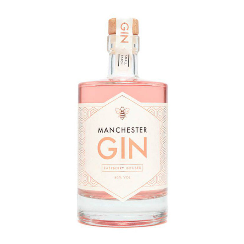 Manchester Gin Raspberry Infused 50cl / 40% abv - The Epicurean