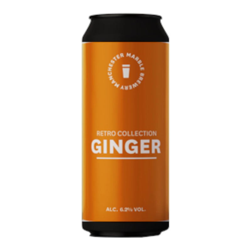 Marble, Retro Collection Ginger, Ale, 6.2%, 500ml - The Epicurean