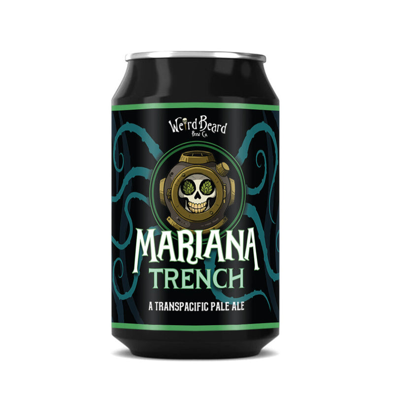 Weird Beard, Mariana Trench, Transpacific Pale Ale, 5.3%, 330ml - The Epicurean