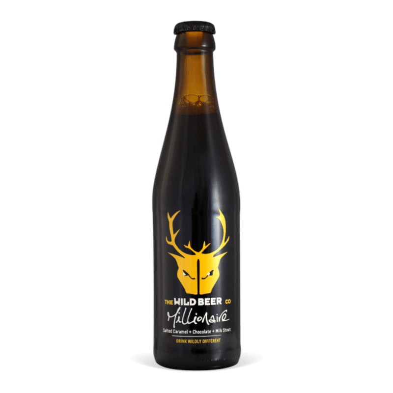 Wild Beer, Millionaire, Salted Caramel Chocolate Milk Stout, 4.7%, 330ml - The Epicurean