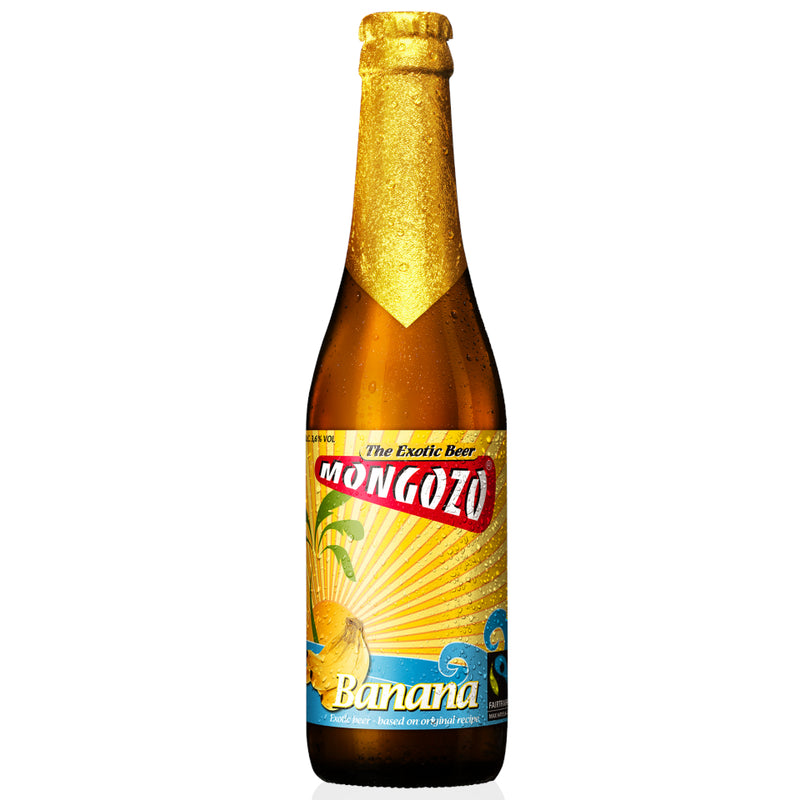 Mongozo, Banana Beer 3.6%, 330ml - The Epicurean