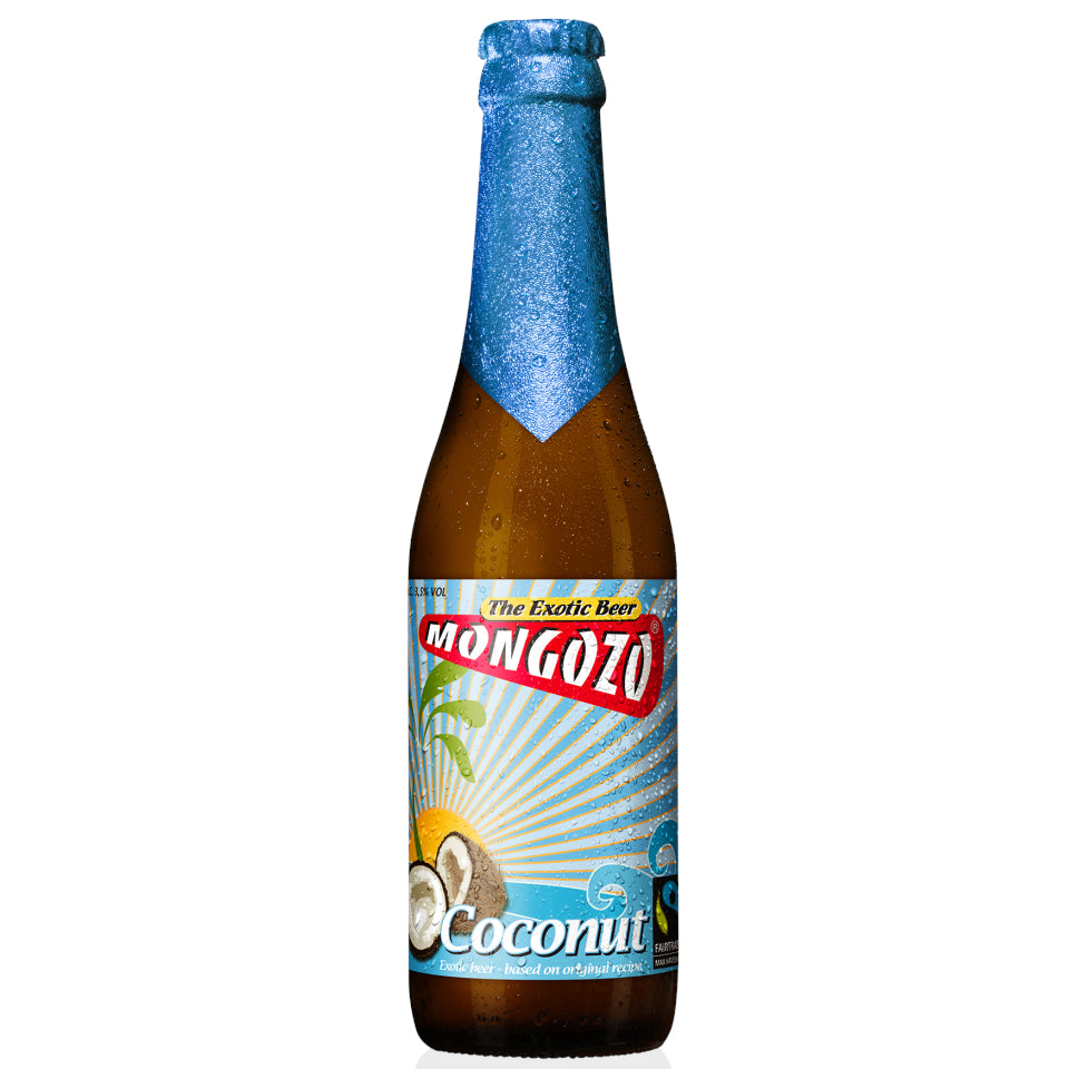 Mongozo, Coconut Beer, 3.6%, 330ml - The Epicurean