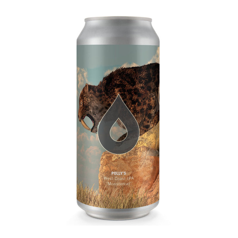 Polly's Brew Co, Monstercat, West Coast IPA, 7.1%, 440ml