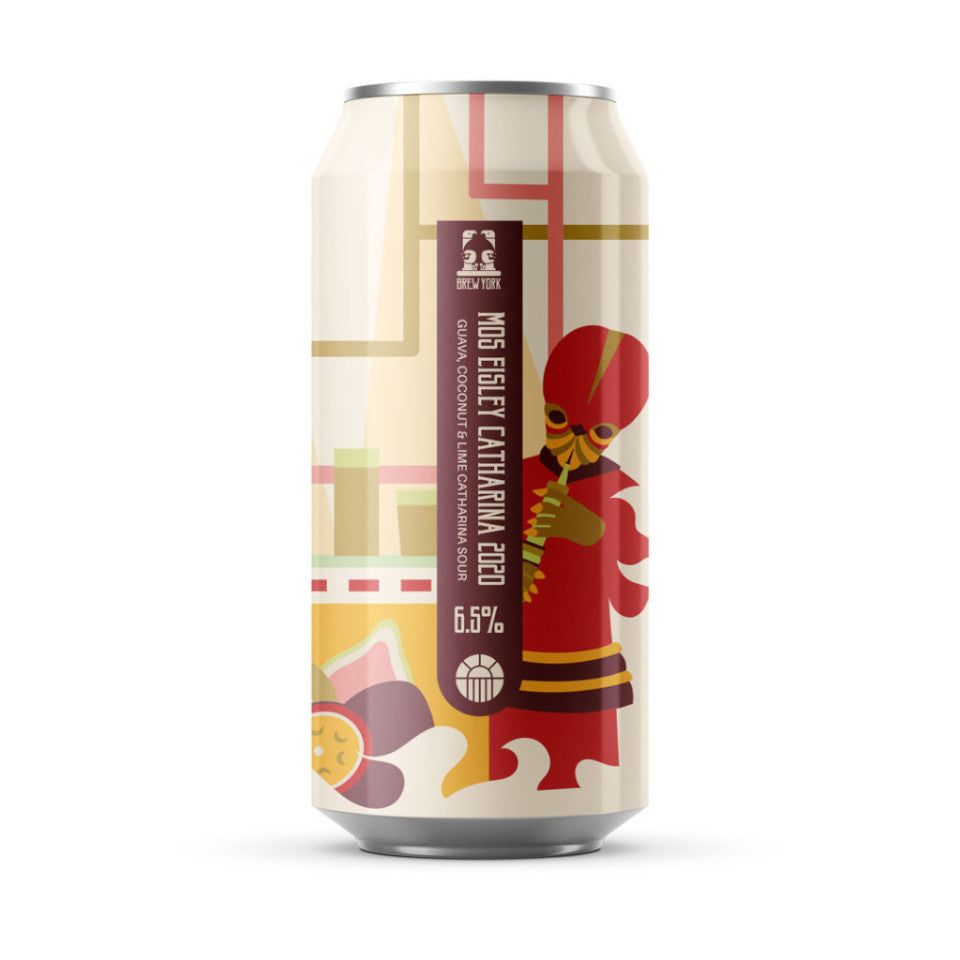 Brew York, Mos Eisley Catharina 2020, Guava, Coconut & Lime Catharina Sour, 6.5%, 440ml