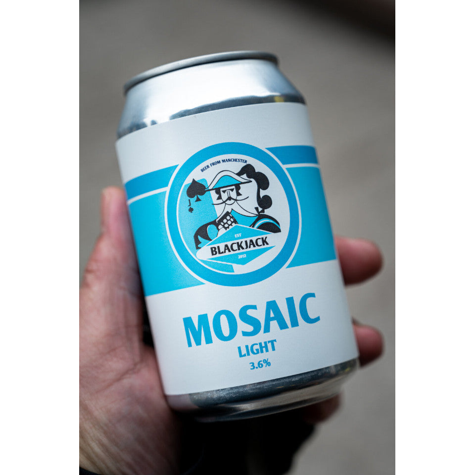 Blackjack, Mosaic Light, Pale Ale, 3.6%, 330ml - The Epicurean