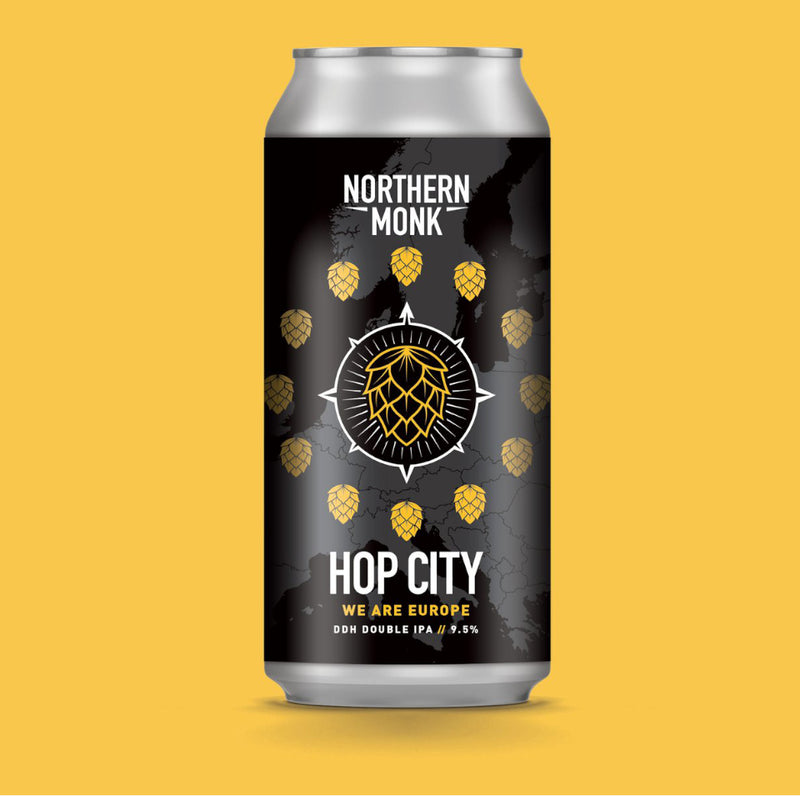 Northern Monk, Hop City, DDH DIPA, 9.5%, 440ml - The Epicurean