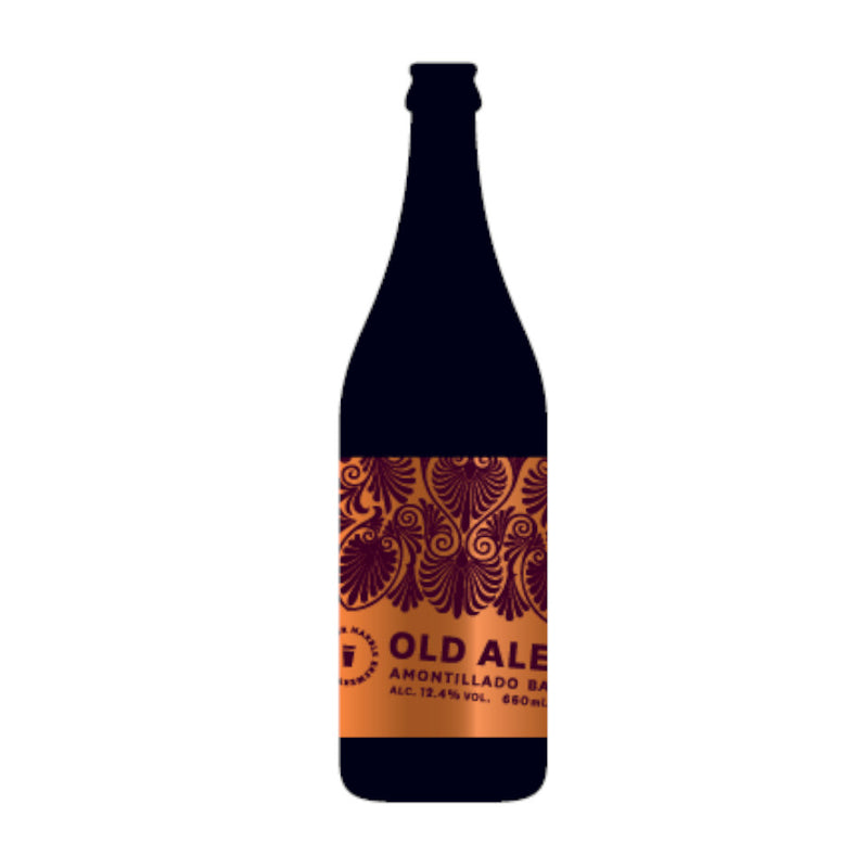 Marble, Old Ale Amontillado Barrel Aged, 12.4%, 660ml