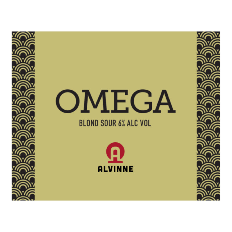Alvinne, Omega, Blonde Sour, 6.0%, 330ml - The Epicurean