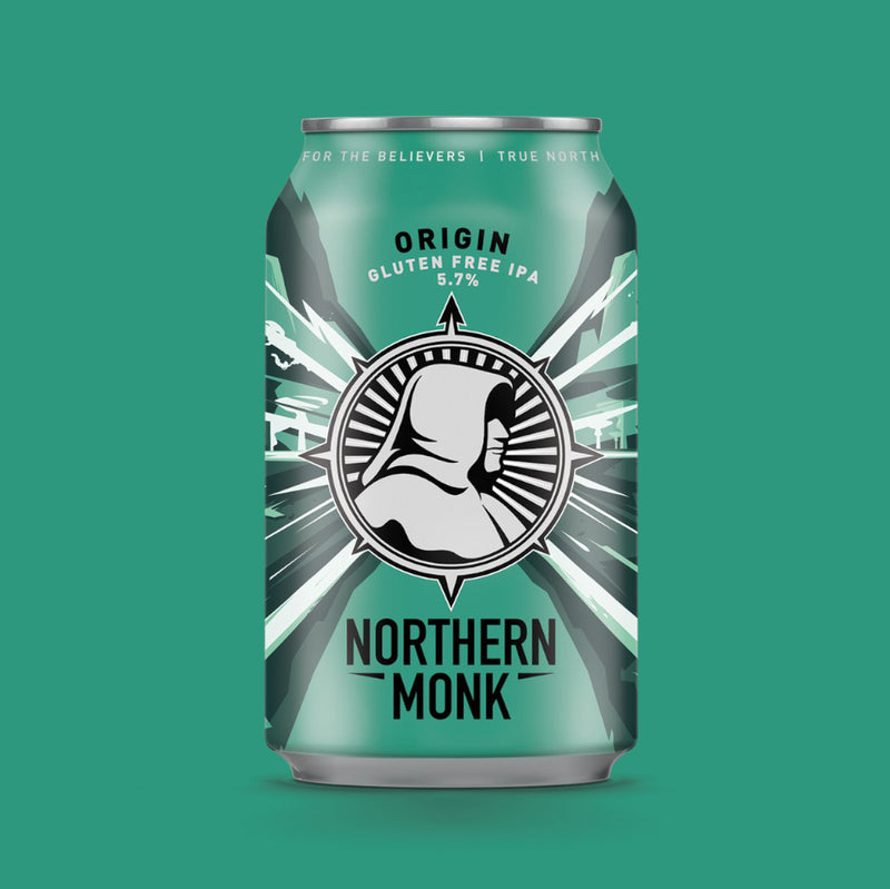 Northern Monk, Origin, Gluten Free IPA, 5.7%, 330ml - The Epicurean