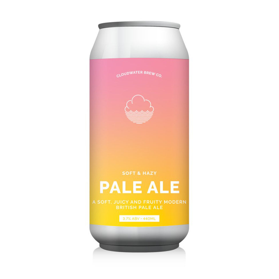 Cloudwater, Soft & Hazy Pale Ale, 3.7%, 440ml - The Epicurean
