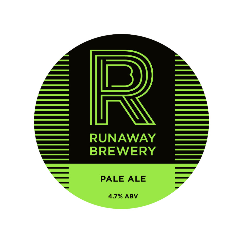 Runaway, Pale Ale, 4.7%, 330ml - The Epicurean