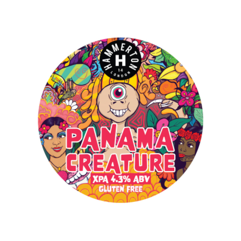 Hammerton Brewery, Panama Creature, Extra Pale Ale, 4.3%, 330ml - The Epicurean