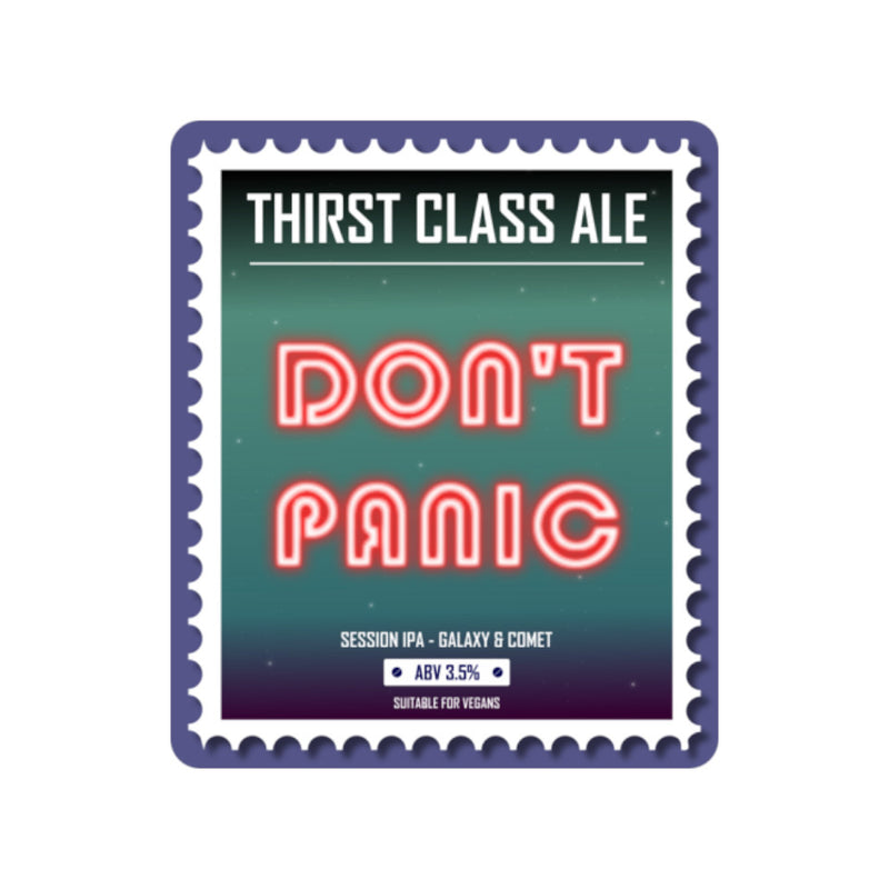 Thirst Class, Don't Panic, Session IPA, 3.5%, 500ml - The Epicurean