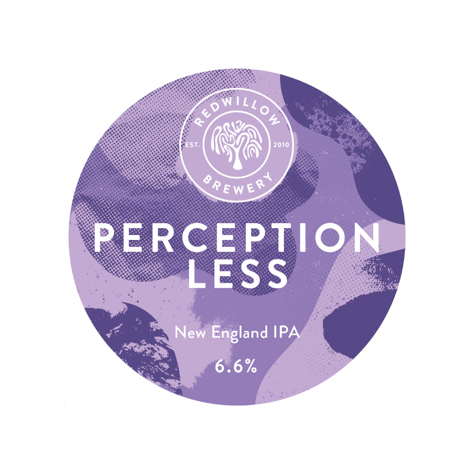 RedWillow, Perceptionless, New England IPA, 6.6%, 440ml - The Epicurean