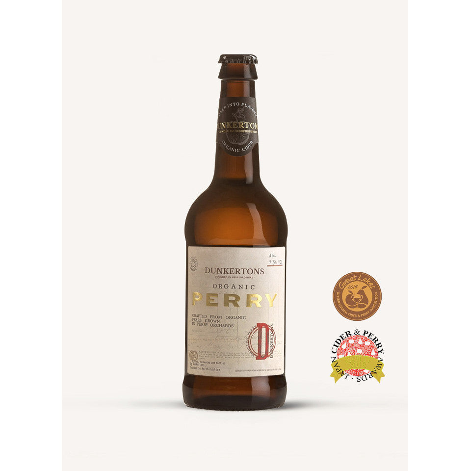 Dunkertons, Perry Organic Sparkling Cider, 7.5%, 500ml