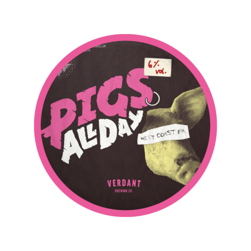 Verdant, Pigs All Day, West Coast IPA, 6.7%, 440ml