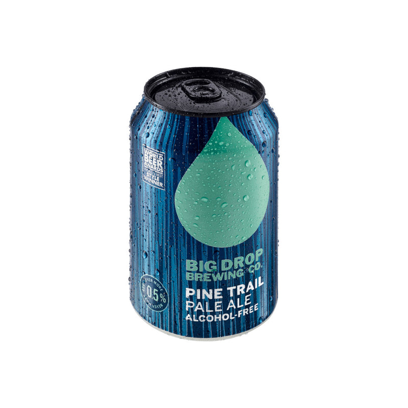 Big Drop, Pine Trail, Alcohol Free Pale Ale, 0.5%, 330ml