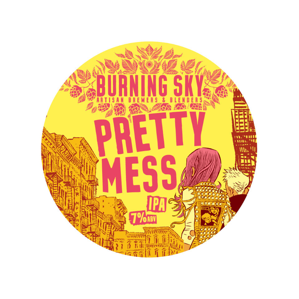 Burning Sky, Pretty Mess, IPA, 7.0%, 440ml - The Epicurean