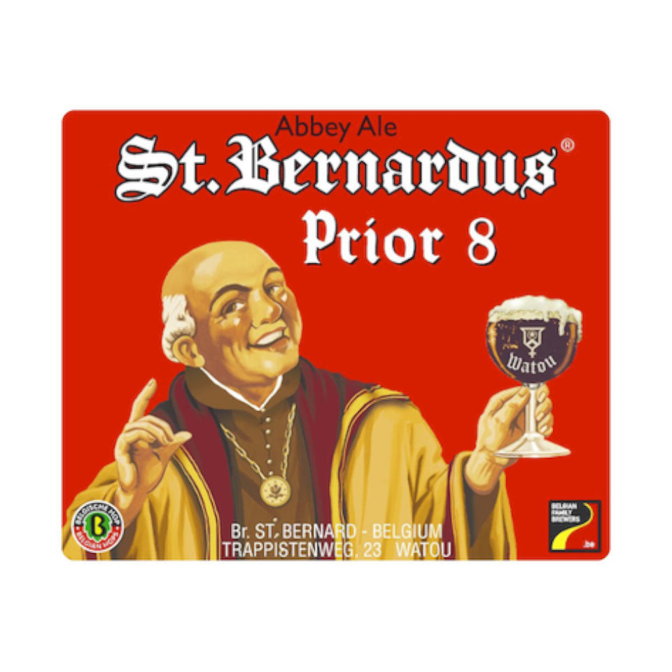 St Bernardus, Prior 8, Dubbel, 8.0%, 330ml - The Epicurean