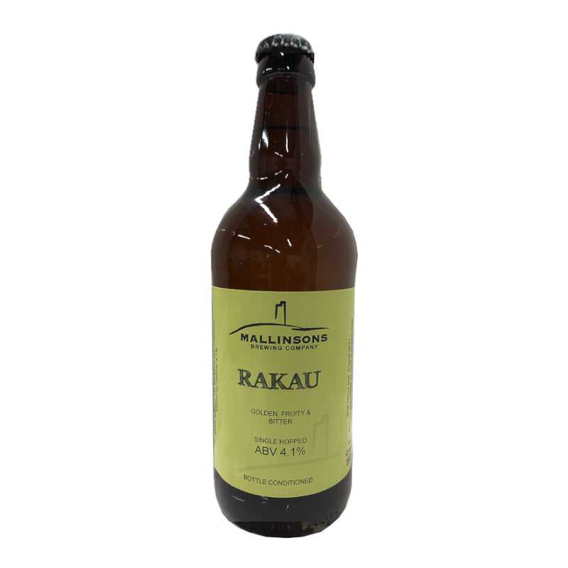Mallinsons, Rakau, Single Hopped Pale Ale, 4.0%, 500ml