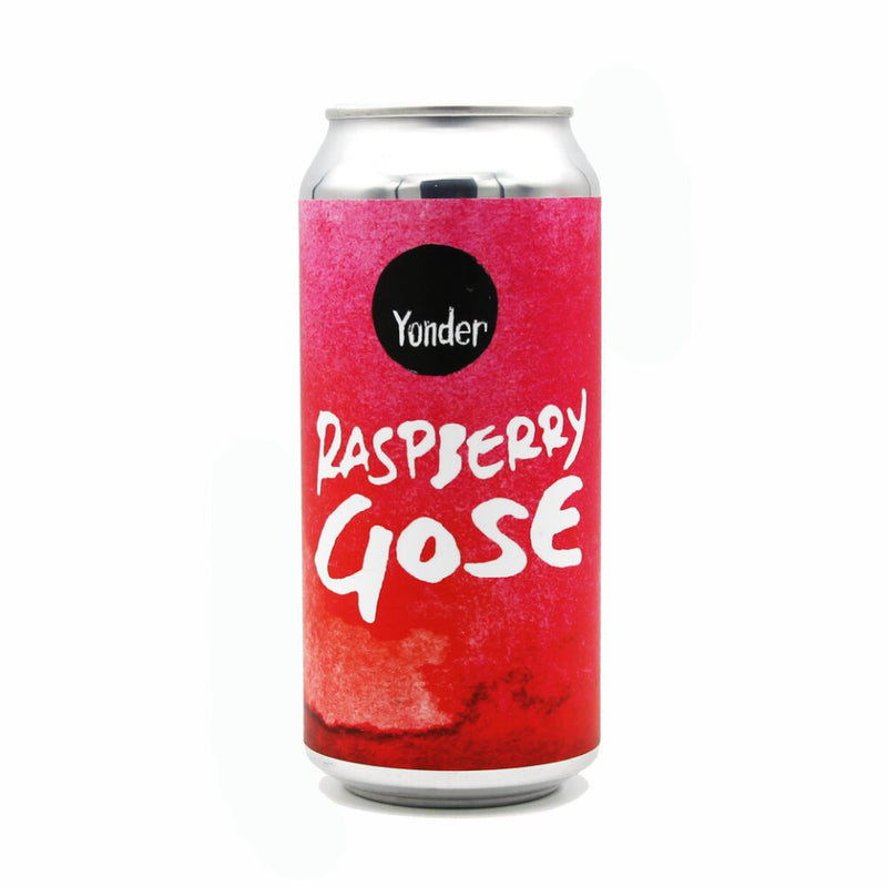 Yonder Brewing, Raspberry Gose, 4.0%, 440ml - The Epicurean
