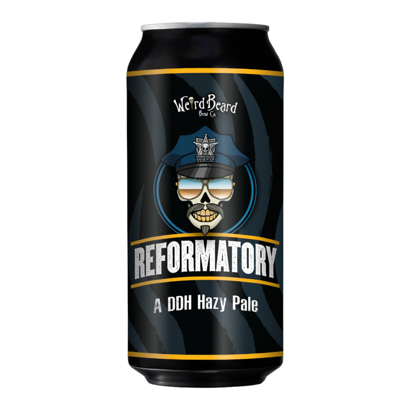 Weird Beard, Reformatory, DDH Hazy Pale Ale, 4.0%, 440ml - The Epicurean