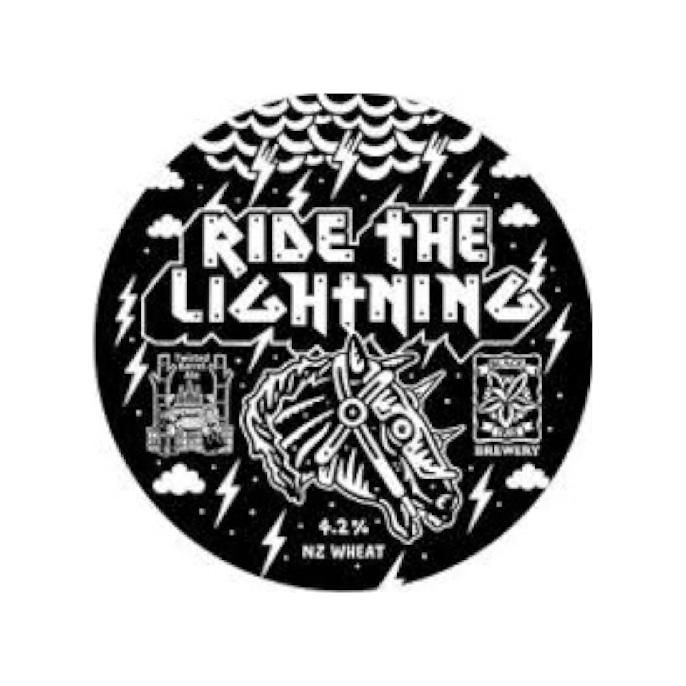 Black Iris Brewing, Ride The Lightning, Pale Ale, 4.2%, 440ml - The Epicurean