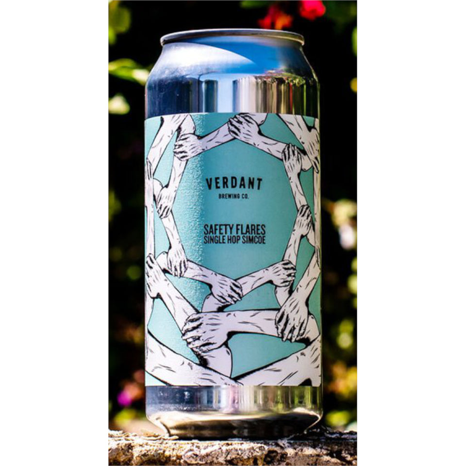 Verdant, Safety Flares, Pale Ale, 5.2%, 440ml - The Epicurean