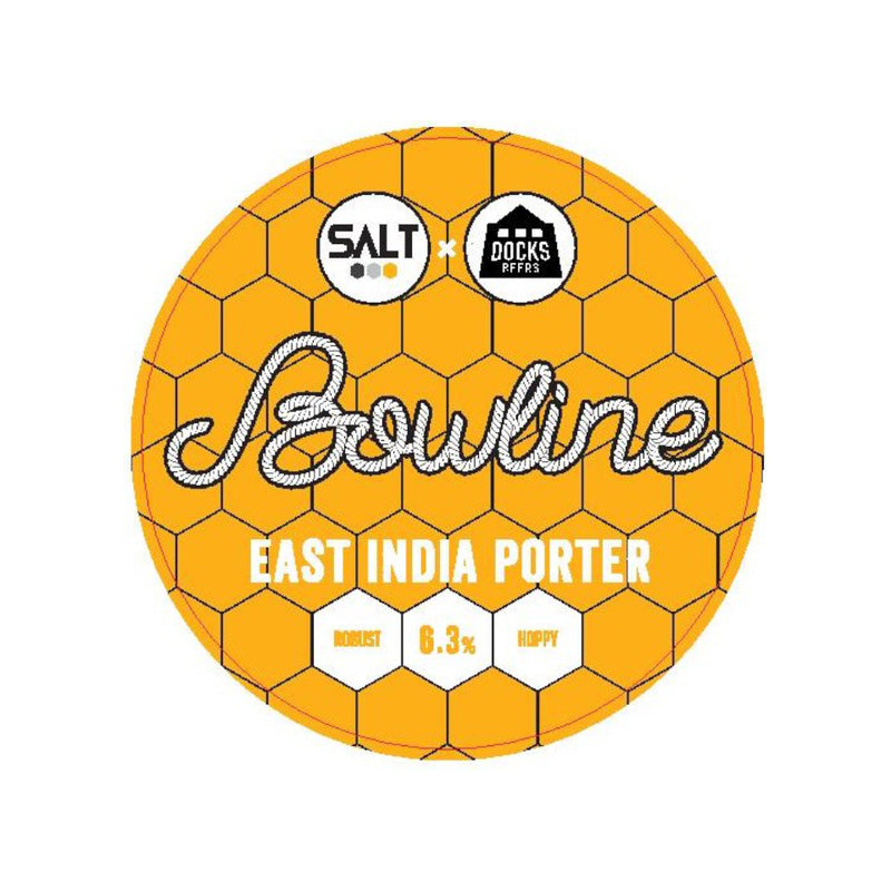 Salt Beer Factory, Bowline, East India Porter, 6.3%, 330ml - The Epicurean