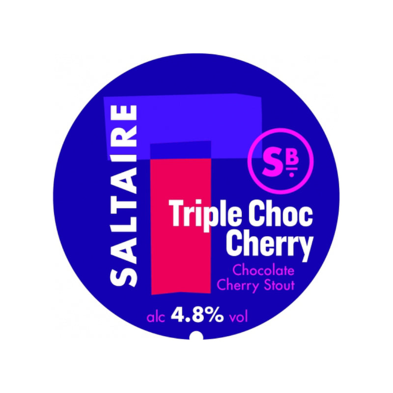 Saltaire, Triple Choc Cherry, Chocolate & Cherry Stout, 4.8%, 330ml - The Epicurean