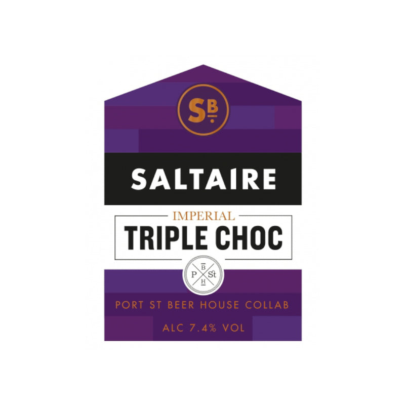 Saltaire, Imperial Triple Choc, 7.4%, 330ml - The Epicurean