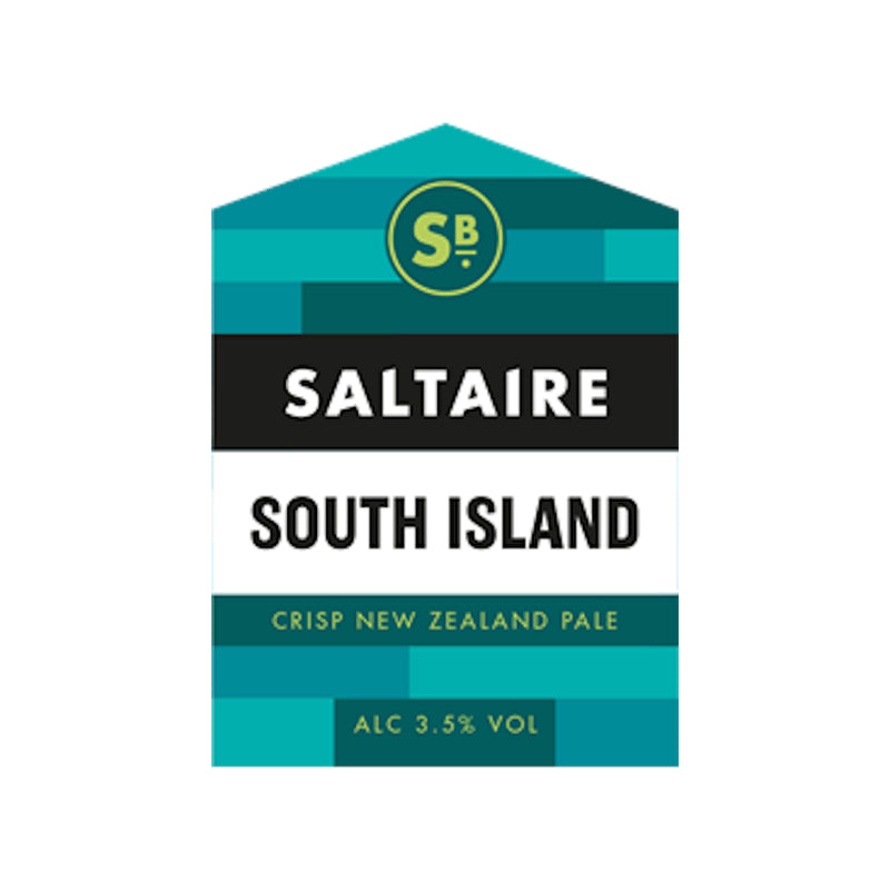 Saltaire, South Island, New Zealand Pale, 3.5%, 500ml - The Epicurean
