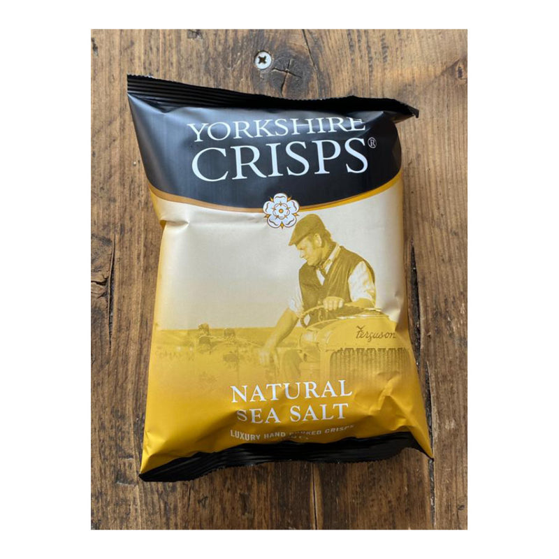 Yorkshire Crisps, Natural Sea Salted Flavoured Crisps