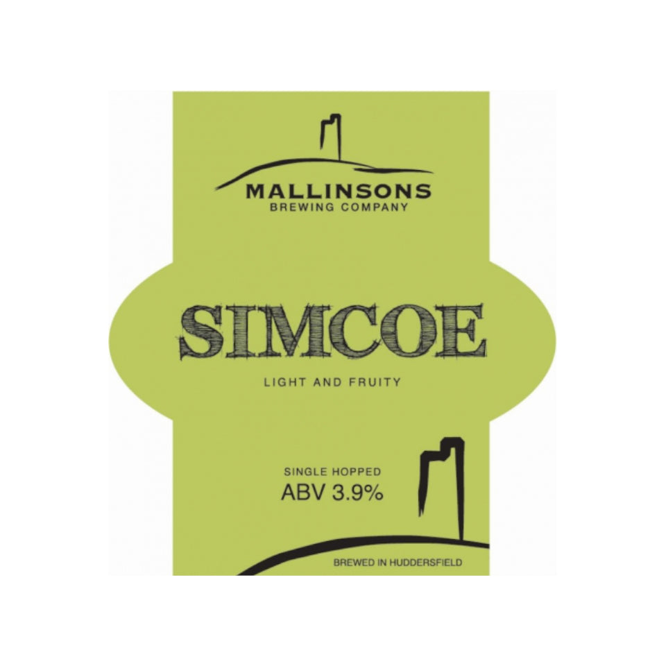 Mallinsons, Simcoe, Single Hopped Pale Ale, 4.0%, 500ml - The Epicurean