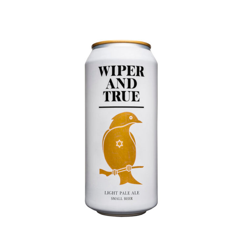 Wiper & True, Small Beer, Light Pale Ale, 2.7%, 440ml - The Epicurean
