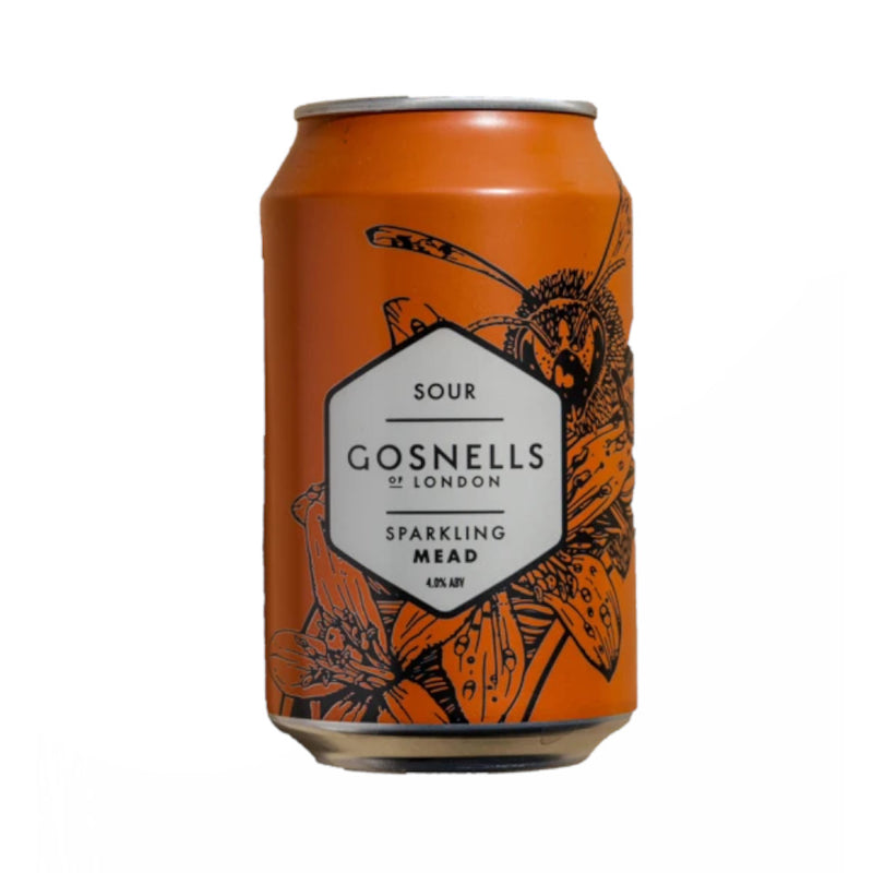 Gosnells, Sour Sparkling Mead, 4.0%, 330ml
