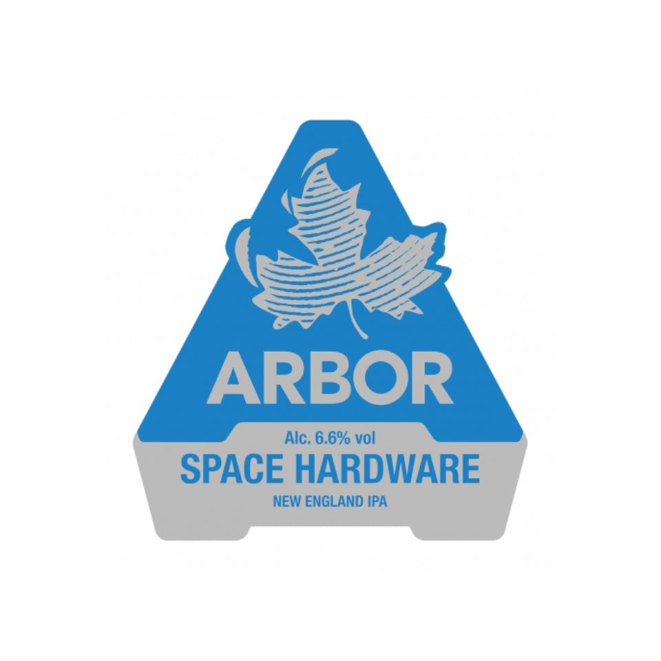 Arbor, Space Hardware, New England IPA, 6.6%, 568ml - The Epicurean