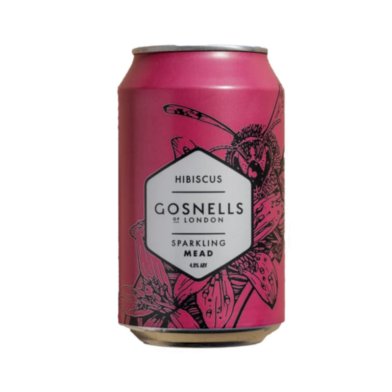 Gosnells, Sparkling Mead with Hibiscus, 4.0%, 330ml
