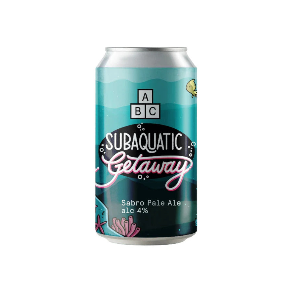 Alphabet Brewing Co, Subaquatic Getaway, Sabro Pale Ale, 4.0%, 330ml - The Epicurean
