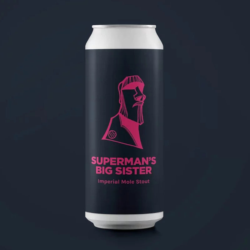 Pomona Island, Superman's Big Sister, Imperial Mole Stout, 11%, 440ml