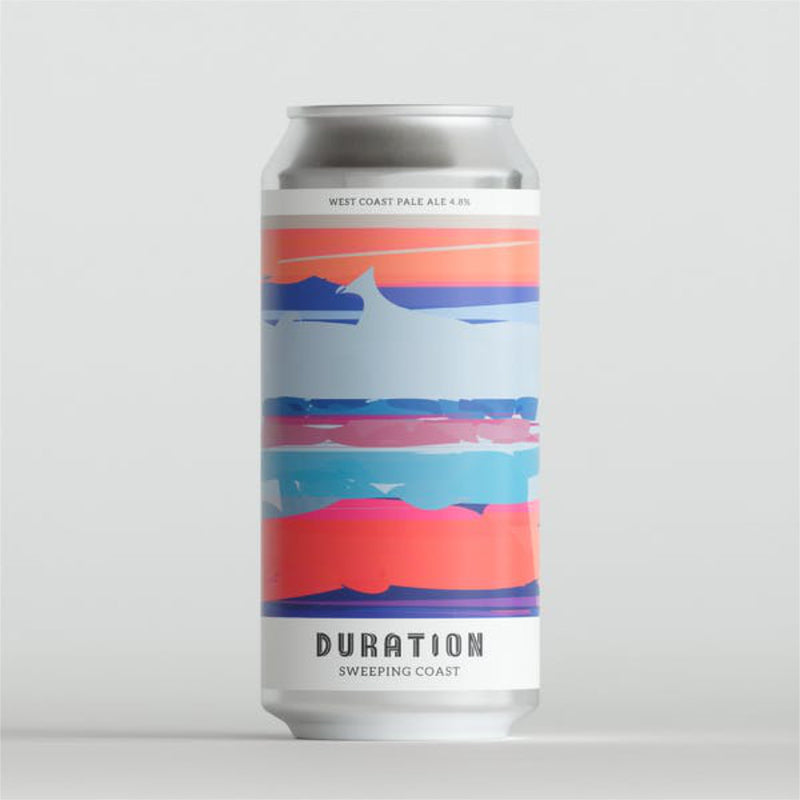 Duration Brewing, Sweeping Coast, Pale Ale, 4.8%, 440ml - The Epicurean