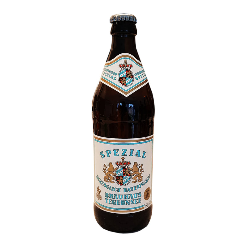 Tegernseer Spezial, German Lager, 5.6%, 500ml - The Epicurean