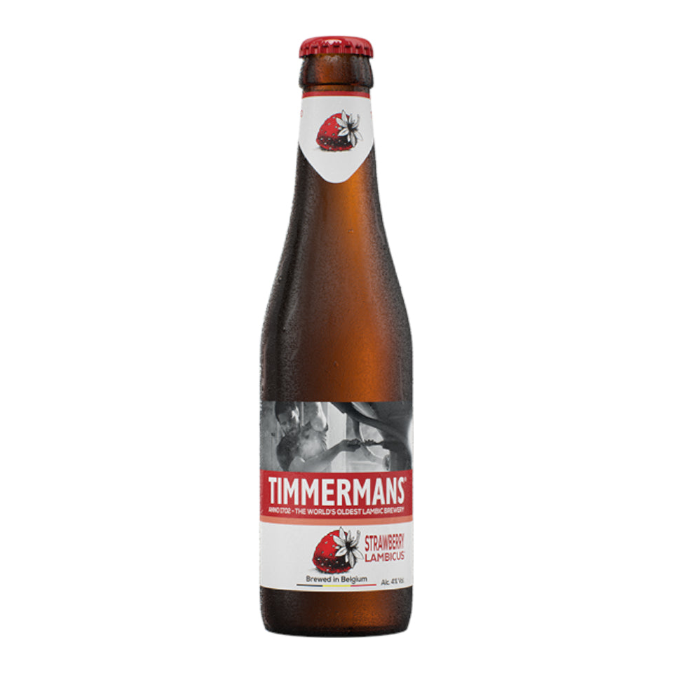 Timmermans, Strawberry Lambicus, Fruit Beer, 4.0%, 330ml - The Epicurean