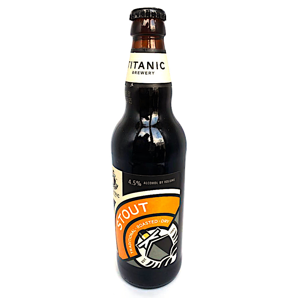 Titanic, Traditional Dry Stout, 4.5%, 500ml - The Epicurean