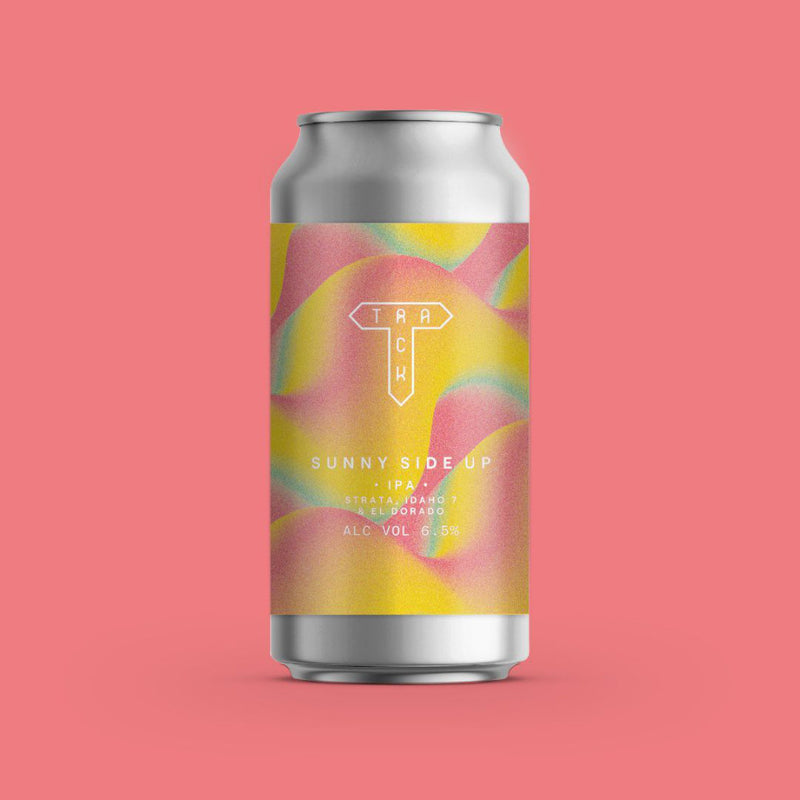 Track Brewing Co, Sunny Side up, IPA, 6.5%, 440ml