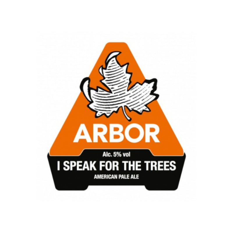 Arbor, I Speak For The Trees, American Pale Ale, 5.0%, 568ml - The Epicurean