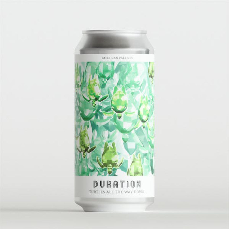 Duration Brewing, Turtles All The Way Down, American Pale Ale, 5.5%, 440ml - The Epicurean