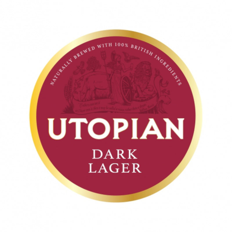 Utopian, Dark Lager, 5.4%, 440ml