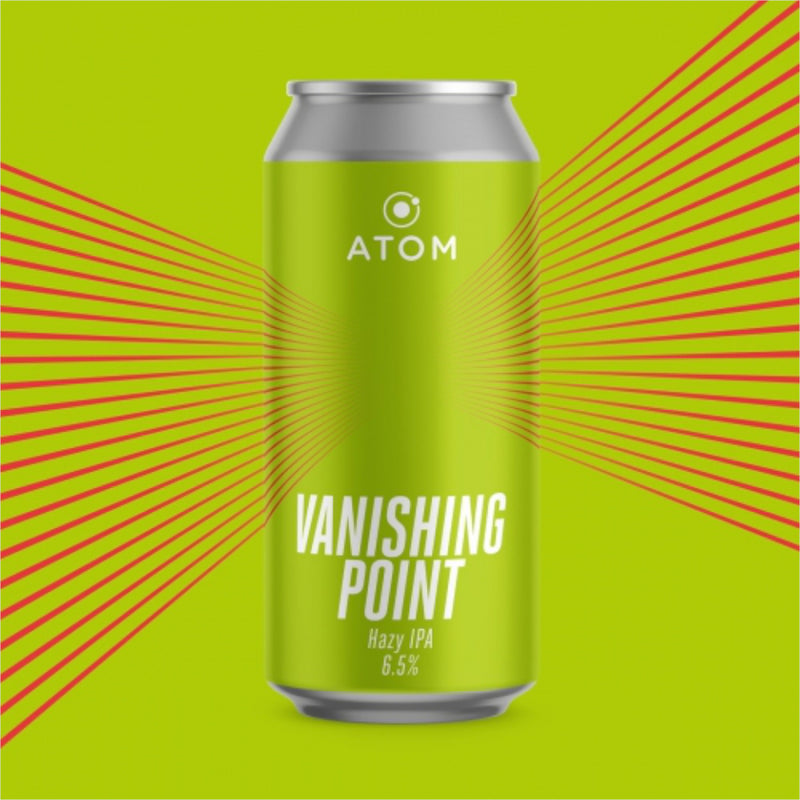 ATOM, Vanishing Point, IPA, 6.5%, 440ml - The Epicurean