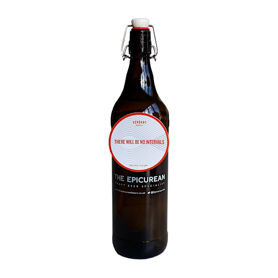 Verdant, There Will Be No Intervals, 1 Litre Growler of Pale Ale, 4.0%, 1000ml - The Epicurean